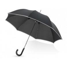 Зонт-трость Balmain черного цвета