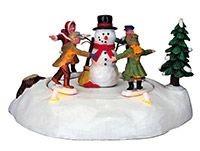 Настольная композиция Весёлый снеговик