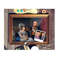 Парный портрет по фото Муж и жена