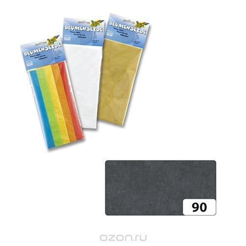 Бумага папиросная Folia, цвет: черный