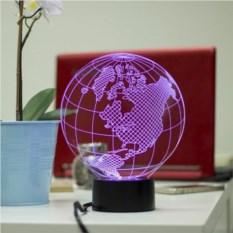 3D светильник Планета Земля
