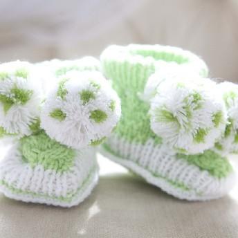 Пинетки зеленые