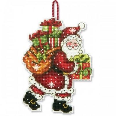 Набор для вышивания Санта с мешком