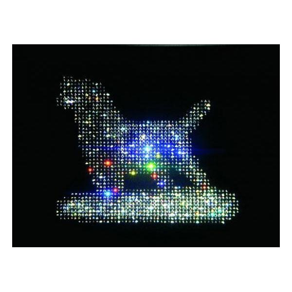 Картина с кристаллами Сваровски «Собака»