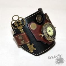 Кожаные часы Хранитель времени