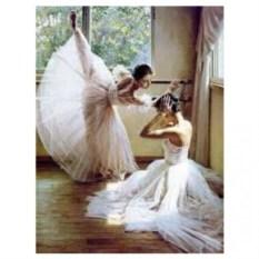 Картина-раскраска по номерам на холсте Балет