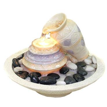 Фонтан декоративный напольный с подсветкой