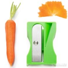 Зеленый инструмент для декоративной нарезки овощей Karoto