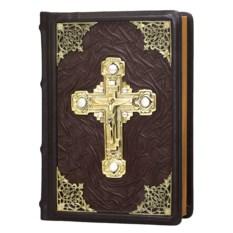 Подарочное издание Библия с кожаной обложкой