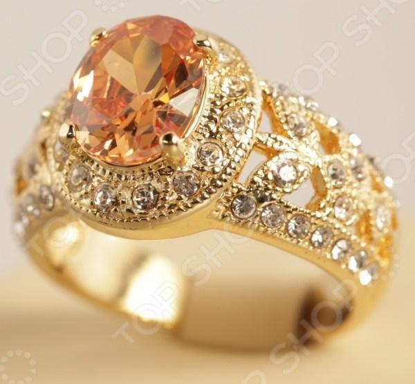 Кольцо Эмили. Цвет: золото