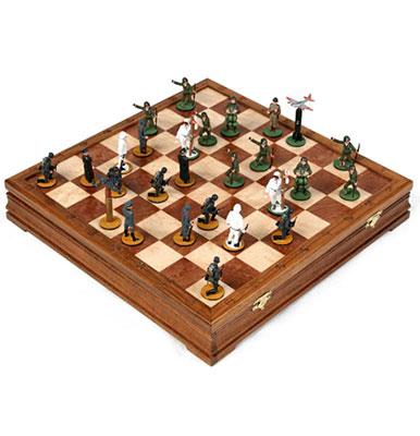 Шахматы «Высадка в Нормандии»