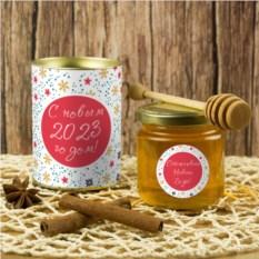 Подарочный мед «С Новым годом!»