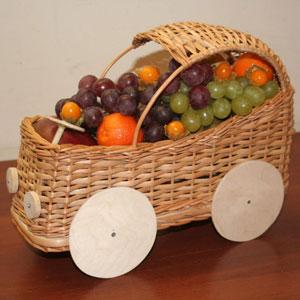 Корзина с фруктами «Автомобиль»