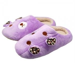 Сиреневые тапочки Teddy-bears