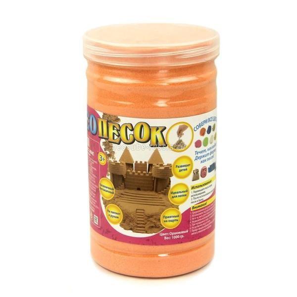 Пластичная масса для лепки Оранжевый НеоПесок
