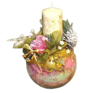 Букет из конфет «Сюрприз новогодний»