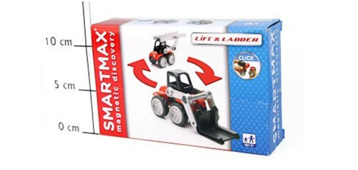 Магнитный конструктор SmartMax/Bondibon Спецтехника