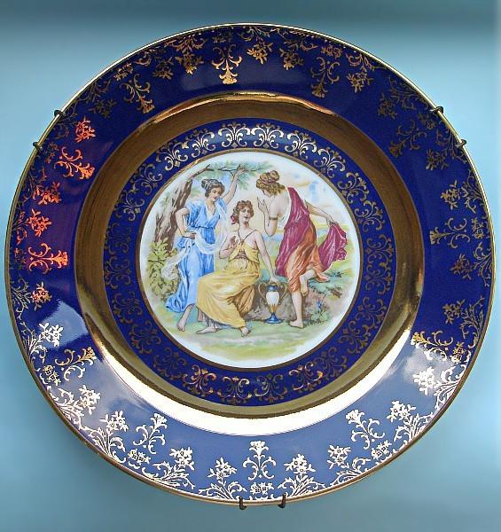 Коллекционная тарелка Спор богинь
