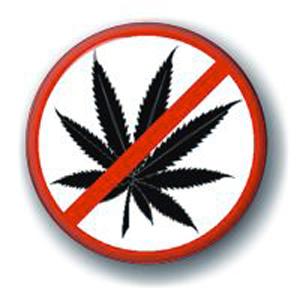 Значок «Нет наркотикам»
