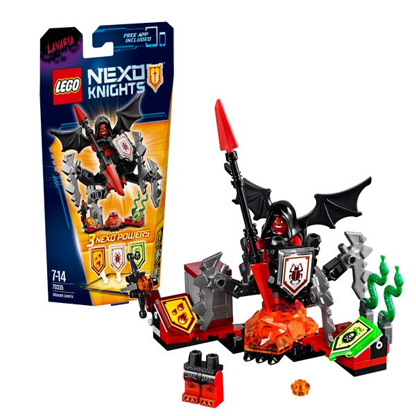 Конструктор Лавария - Абсолютная сила Lego Nexo Knights