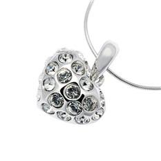 Подвеска с кристаллами Swarovski Сердце