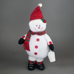 Игрушка Снеговик с ведром
