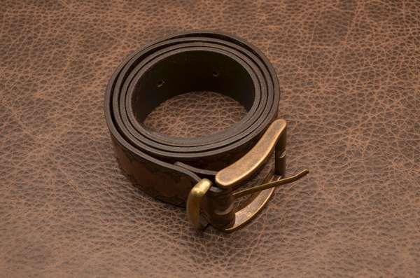 ElolE Belts. Ремень, кожа, коричневый (тип 2)