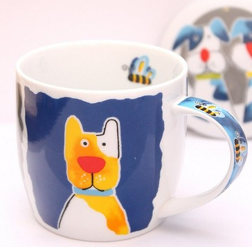 Кружка с крышкой Ani-mug Dog