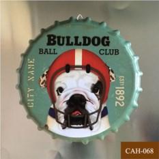 Декоративная пивная крышка Bulldog