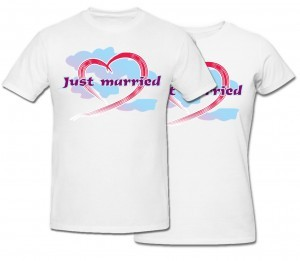 Комплект футболок Just Married