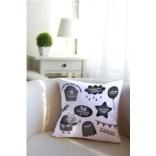 Декоративная подушка с вашим именем Злобный день рождения