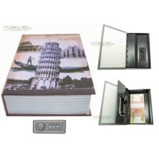Книга-сейф с кодовым замком Italy