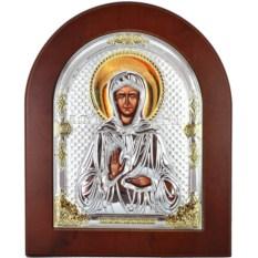 Икона в серебряном окладе Матрона Московская Святая блаженная
