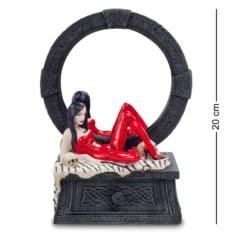 Статуэтка-зеркало Женщина в красном
