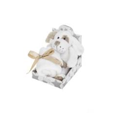 Мягкая ароматизированная игрушка Флаффи с одеяльцем