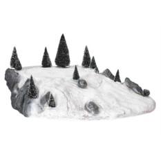 Интерьерная композиция Ландшафтный фрагмент снежный