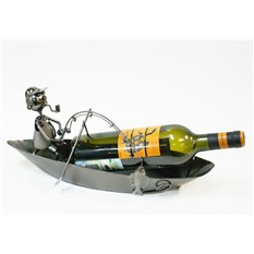 Подставка для бутылок Дед рыбарь