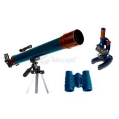 Телескоп Levenhuk LabZZ MTB3: микроскоп, телескоп и бинокль