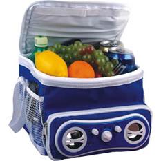 Фотография: Рюкзак - холодильник с радио.
