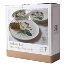 Набор для торта из 8 предметов Роза Редаут