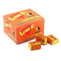 Блок жвачек Love is Апельсин-Ананас (20 шт.)