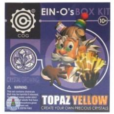 Набор для выращивания кристаллов «Желтый топаз»