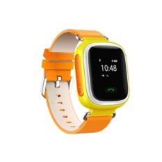 Оранжевые умные детские часы с GPS Smart Baby Watch Q60