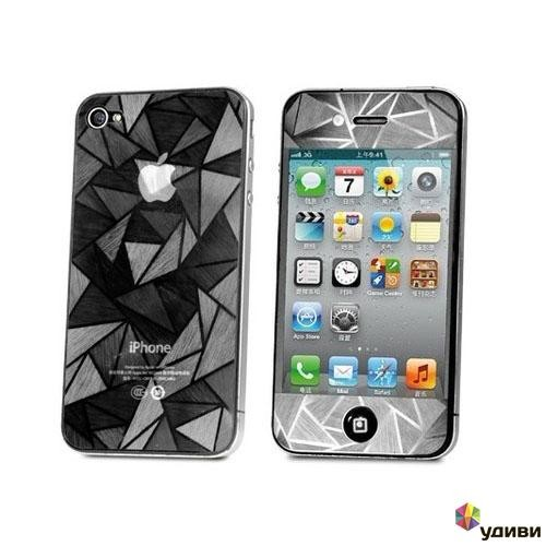 Защитная пленка 3D Diamond на iPhone