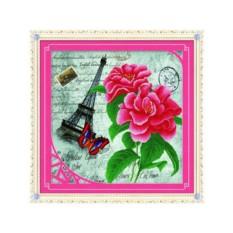 Набор для вышивки стразами «Эйфелева башня»