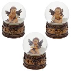 Декоративная фигурка в стеклянном шаре Ангелок