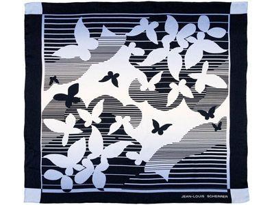 Платок шелковый Papillons