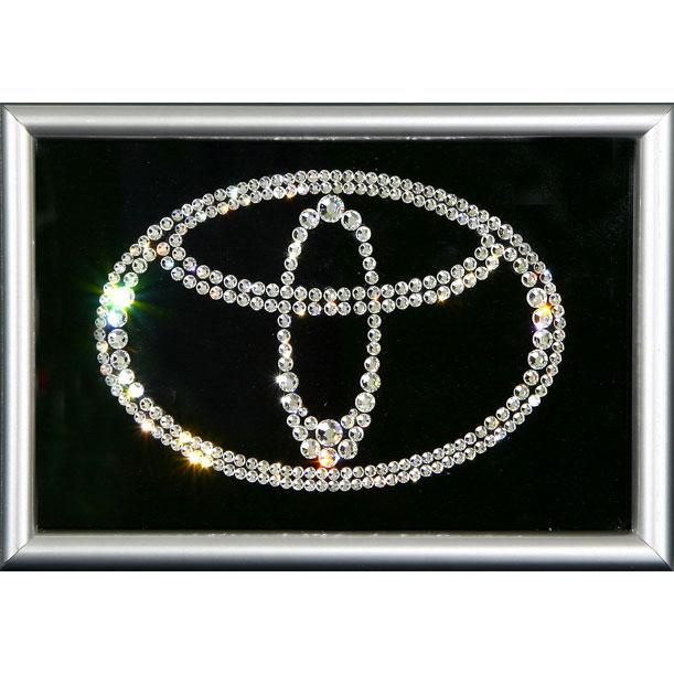 Картина из кристаллов Toyota