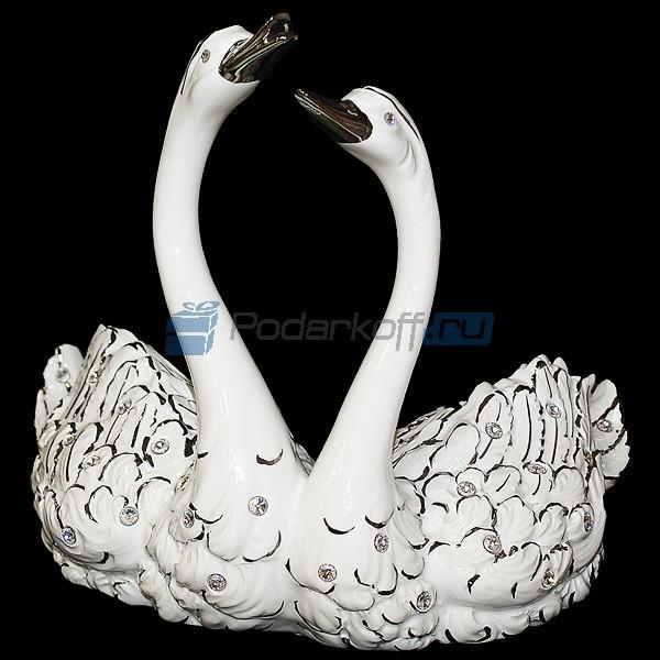 Скульптура Лебединая пара