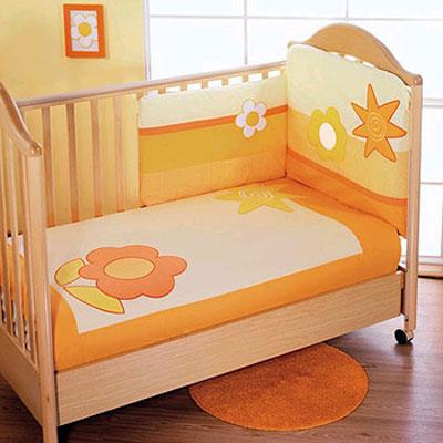 Постельное бельё в детскую кроватку Sun Flower